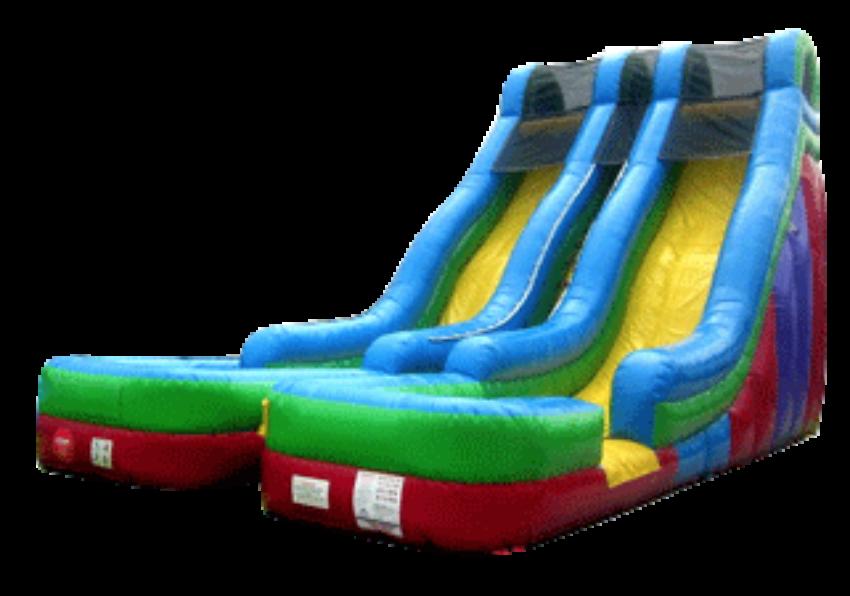20 Foot Duel Water Slide