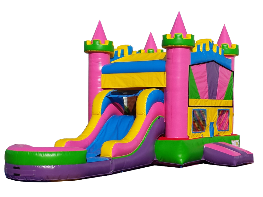 4 In 1 Princess Castle Combo Wet Cutout