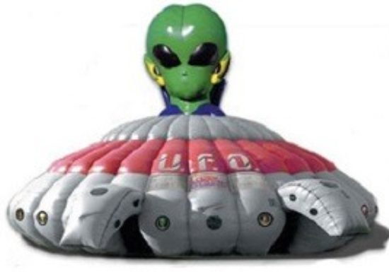 Alien Head Laser Tag